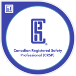 Canadian Registered Safety Professional Badge