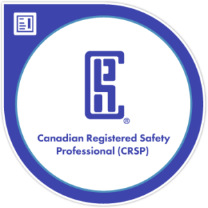 Canadian Registered Safety Professional logo